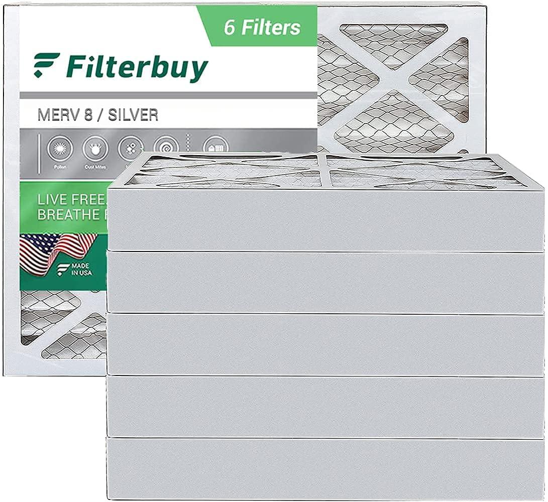 FilterBuy 20x25x4 Air Filter MERV Cheap shopping sale 8 Pleated HVAC Fil AC Furnace