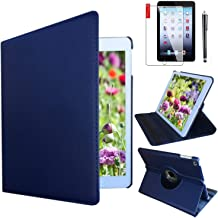 iPad Case Cover Rotating Stand with Wake Up / Sleep Function For Apple iPad Air 1st Generation Compatible models; MD785LL/A , MD876LL/A , ME906LL/A or A1474 , A1475 , A1476 ( Royal Blue)