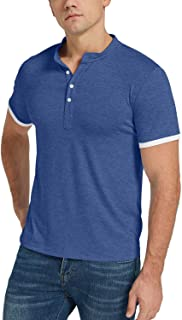 Mens Polo Shirt Short Sleeve Classic Sports Top Casual Workout Sports Shirts