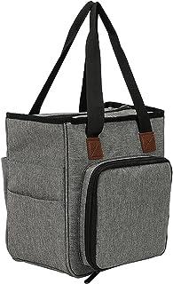 AleXanDer1 Sac Tricot Rangement Vente Sac à Tricoter Portable Sac à Tricoter Fil Sac de Rangement pour la Laine Crochet Cr...