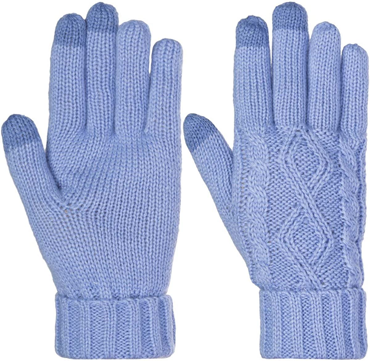 DG Hill Warm Cute Texting Gloves Touch Screen Gloves Knit Gloves Winter Gloves