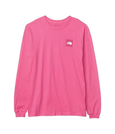 The North Face Long Sleeve Red Box T-Shirt (Mr. Pink) Men