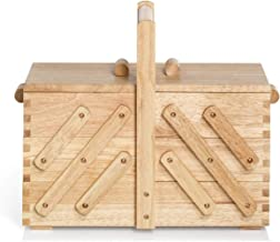 Prym Foldable Sewing Basket Grey 38 x 26 x 16 cm