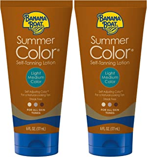 Banana Boat Summer Color Sunless Tanning Twin Pack