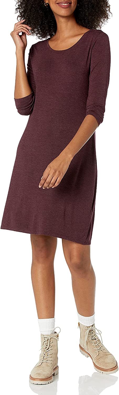 Amazon Los Angeles Mall Brand - Daily Ritual New popularity 4-Sleeve Scoop-Neck Women's Jersey 3