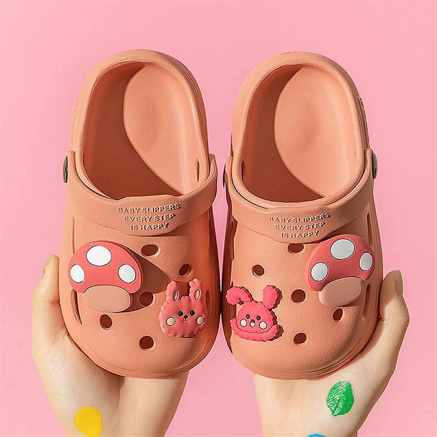 Children MulesClogs Cartoon Cute Home Free shipping on posting reviews Slippers Sandals Max 71% OFF