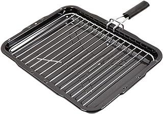 Spares2go - Sartén con mango extraíble para horno Bosch (385 mm x 300 mm)