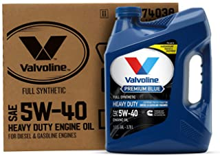 Best Valvoline - 774038 Premium Blue Extreme SAE 5W-40 Full Synthetic Engine Oil 1 GA, Case of 3 Review