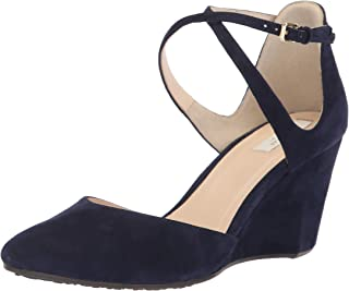 Best cole haan lacey ankle strap wedge pump suede Reviews