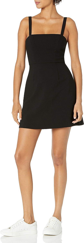French Connection Women's Whisper Dress Straight 信用 Neck ☆送料無料☆ 当日発送可能