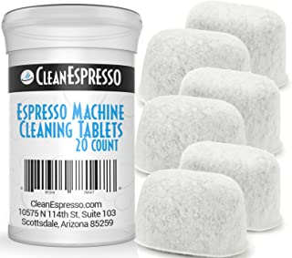 Espresso Machine Cleaning Tablets for Breville Machines + 6 Replacement Filters - Model BRF-020