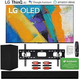 "LG OLED77GXPUA 77"" GX 4K OLED TV w/AI ThinQ (2020 Model) with GX Soundbar Bundle"