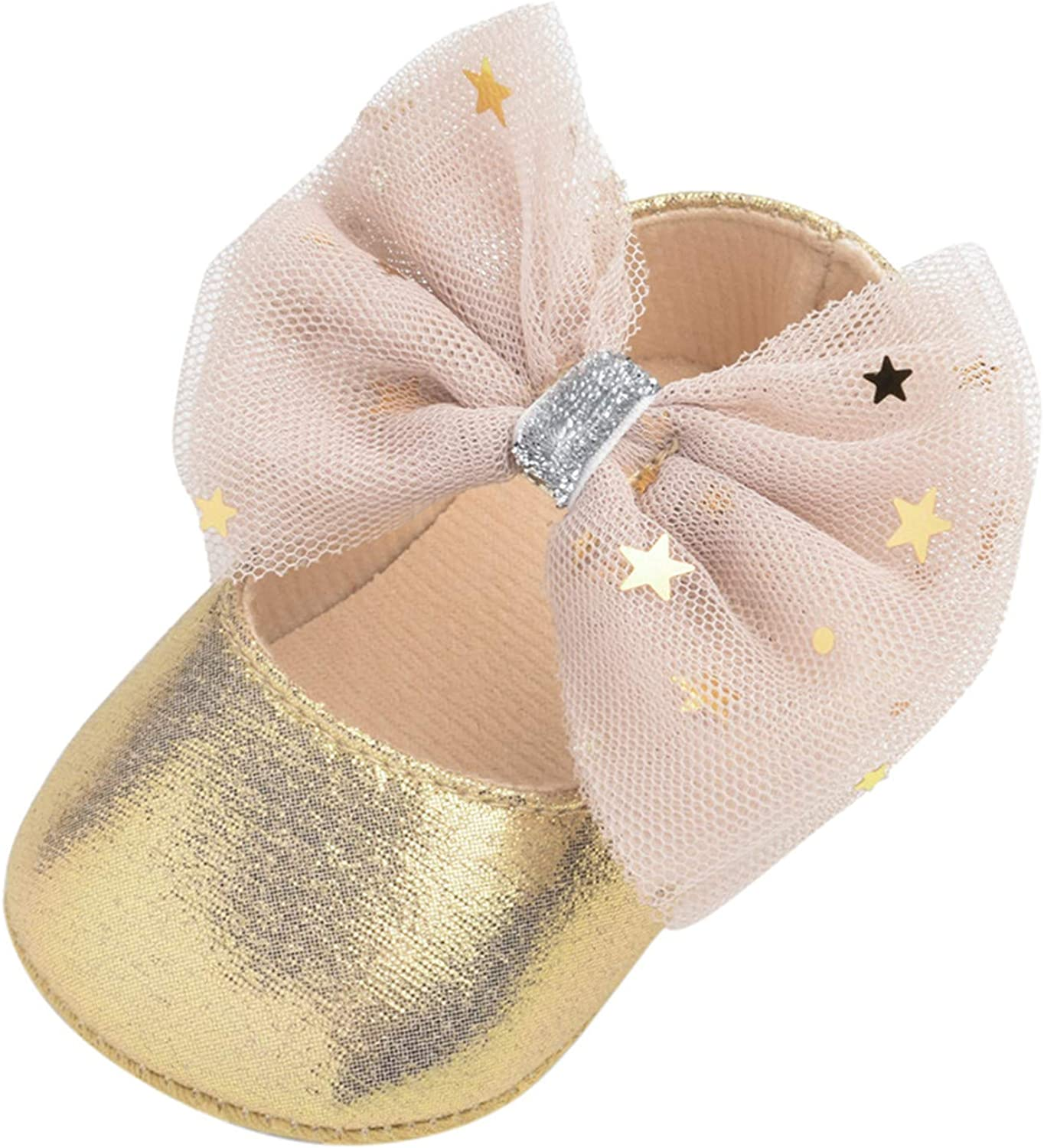 FIN86 0-18M Baby specialty shop Shoes Mary Janes Rubber Sole Firs Flat Bowknot Max 43% OFF
