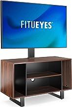 FITUEYES Meuble TV avec Support TV pour 32'' – 55'', Hauteur Réglable et Angle Adjustable ±20° VESA max. 400 x 400 mm Fait...