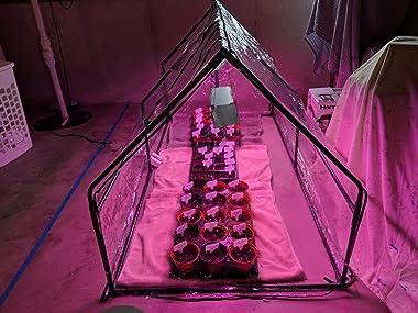 "Quictent Waterproof UV Protected Reinforced Mini Cloche Greenhouse 95"" WX 36"" D X 36"" / 71"" WX 36"" D X 36"