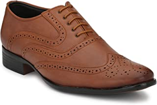 Levanse Men's Formal Synthetic Leather Shoes