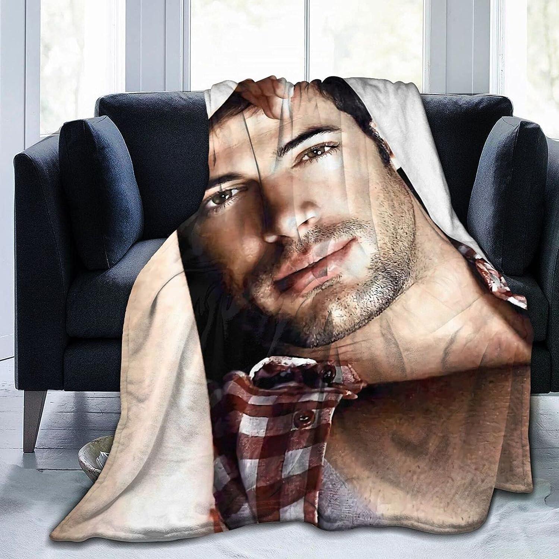 William Levy Throw Blanket Fleece Regular dealer Lightweight Flann Cheap mail order specialty store Soft