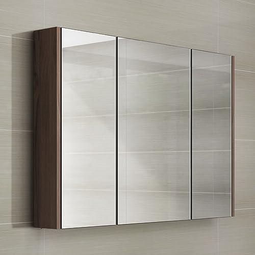 Enjoyable Walnut Bathroom Cabinet Amazon Co Uk Complete Home Design Collection Barbaintelli Responsecom