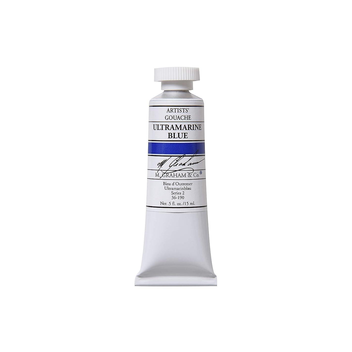 M. Graham 1/2-Ounce Tube Gouache Paint, Ultramarine Blue