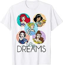 Disney Princess Big Dreams Sparkle Character Bubbles T-Shirt
