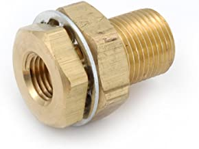 Anderson Metals 00397 Brass Pipe Fitting, Anchor Coupler, 3/8