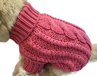 Le Petit Chien Handmade Knitwear Soft Sweater for Small Dogs or Puppies