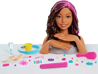 Best barbie color and style deluxe styling head african american Reviews