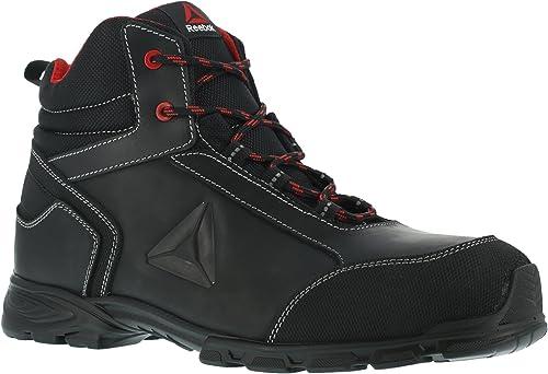 Reebok travail travail Ib1025S3Audacious Sport orteil en aluminium de travail de sécurité de coffre, imperméable, Noir rouge, 46, noir rouge, 1  vente discount en ligne