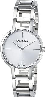 Calvin Klein Womens Analogue Quartz Watch with Stainless Steel Strap K8N23146