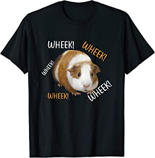 Cute & Funny Wheek - Guinea Pig Owner / Cavy Lover TShirt T-Shirt