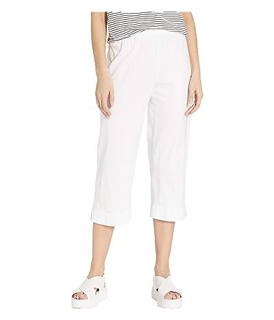 Fresh Produce Jersey Capri Pants (White) Women