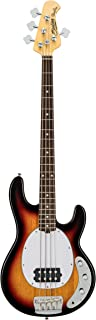 Sterling By MusicMan 4 String Sterling by Music Man StingRay Classic Ray24CA Bass Guitar in 3-Tone Sunburst, (RAY24CA-3TS-R1)