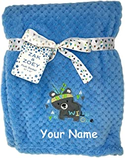 Amazon Com Personalized Name Blanket