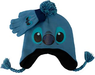 Lilo & Stitch Winter Beanie & Glove Set