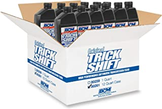 B&M 80261 Trick Shift Automatic Transmission Fluid 1 Quart Bottle 12 Pack Trick Shift Automatic Transmission Fluid