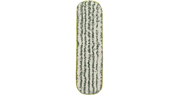 CleanAide Coral Weave Microfiber with Poly Stripe Wet and Dry Mop Pad 24 Inches Yellow Eurow /& O/'Reilly Corp CA-MP24-SHY