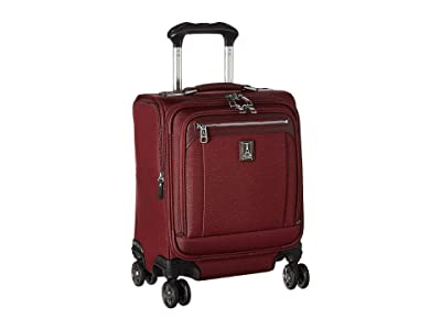 Travelpro Platinum(r) Elite Carry-On Spinner Tote (Bordeaux) Luggage