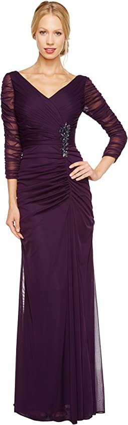 Drape Covered Gown