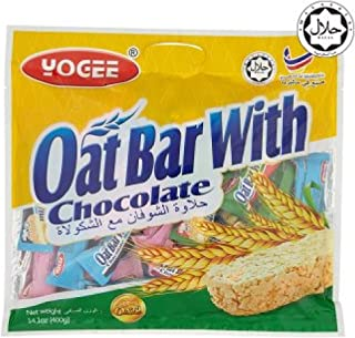 Yogee Oat Bar with Chocolate 400g (628MART) (12 Pack)