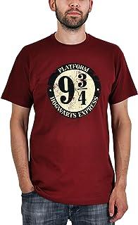 Harry Potter - camiseta del andén 9 y 3/4 - algodón - burdeo