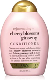 OGX Rejuvinating + Cherry Blossom Ginseng Conditioner, 13 Ounce