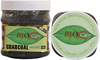 ORIGINAL BIOCARE Charcoal gel for Acne Scars Glowing & Radiant Skin Treatment (500ml)