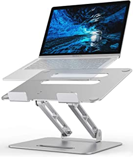 Adjustable Laptop Stand, Cshidworld Laptop Holder, Notebook Holder Stand with Heat-Vent, Computer Stand Notebook Aluminum ...