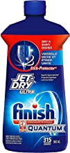 Finish Jet Dry Ultra Rinse Aid | Dishwasher Rinsing and Drying Agent – with Etch..