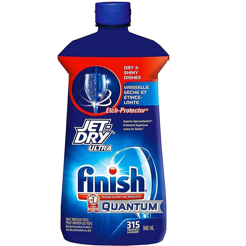 Finish Ultra Dishwasher Rinsing Drying