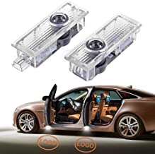 2pcs Fit for Land Rover LED Car Door Light Laser Projector Light Welcome Shadow Light Car Logo Bulb Kit Compatible with Range Rover Discovery 4 Evoque Freelander