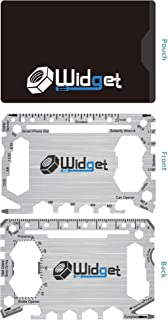 Multi purpose survival Pocket tool - 43 in 1 - credit card wallet size Ninja Multitool (Silver)
