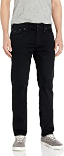 True Religion Men's Rocco Skinny Fit Jean with Back Flap