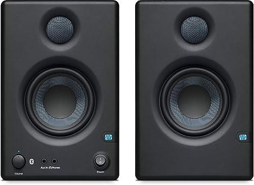 """PreSonus Eris E3.5 BT - Moniteurs de studio en champ proche 3,5 """"avec Bluetooth, Noir"""