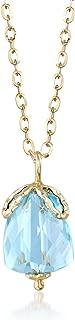 Best aquamarine pendant gold Reviews